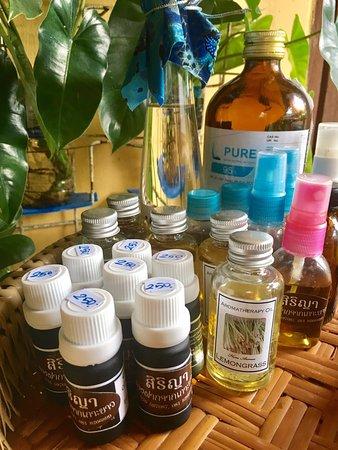 Ko Yao Noi, Thailand: Aroma oil