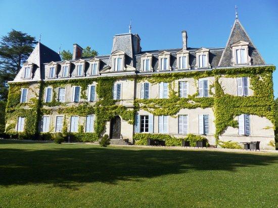 Annesse-et-Beaulieu, Prancis: Vue depuis le parc