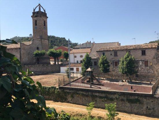 Monistrol de Calders, Spanien: Les vistes des de la nostra terrassa.