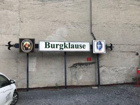 Nickenich, Tyskland: Eine Übernachtung im Hotel Burgklause