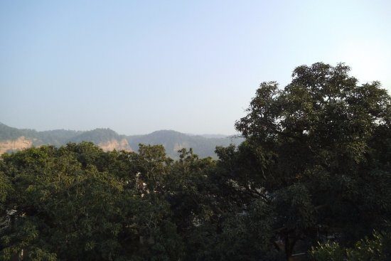 Garjia, India: View from the Roof Top