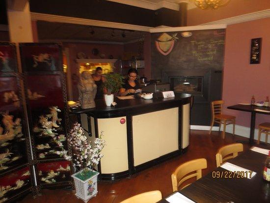 Plantsville, Коннектикут: hostess station