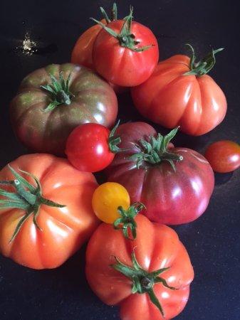 LE BISTRO DU RHONE : Les belles tomates de Christelle