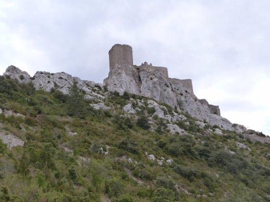 Montsegur, Frankreich: Château de Montségur ça monte !