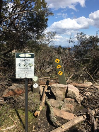 Parks Victoria has closed access to The Balconies rock formation other than the official lookout