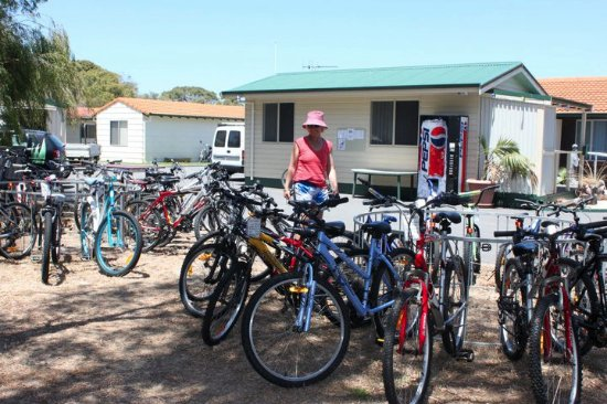 Albany, Australia: You can come and choose a bike from Havana Villas Emu Point