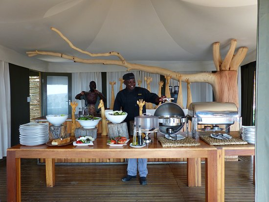 Timbavati Private Nature Reserve, Afrika Selatan: Lunch time