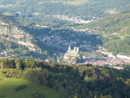 Foix, Prancis: Photo depuis le point de vue Le Prat d'Albis