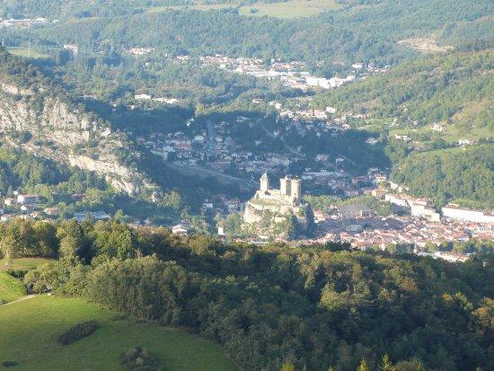 Foix, France: Photo depuis le point de vue Le Prat d'Albis