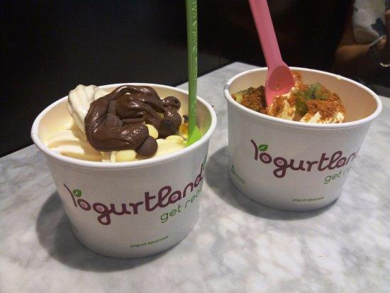 Yogurtland: Miam!