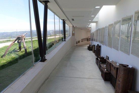 Montegridolfo, Italia: una sezione del museo