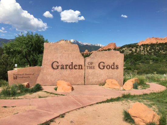 Ingang Picture Of Garden Of The Gods Colorado Springs Tripadvisor