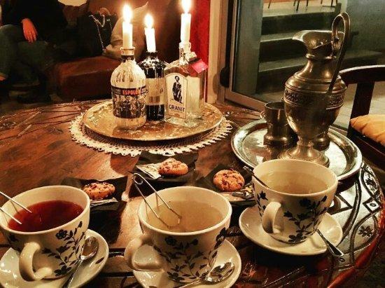 "Certaldo, Italy: Tea time... tea room... ""Salotto Negroni"""