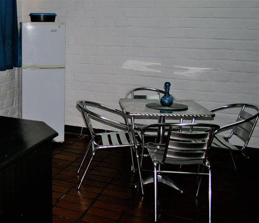 ซาบี, แอฟริกาใต้: Standard 4 Sleeper - in room dining area