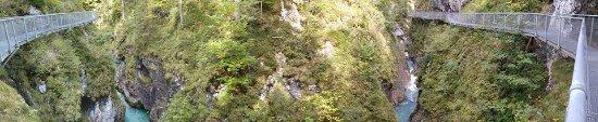 Leutasch, Østerrike: Panoramic pic!