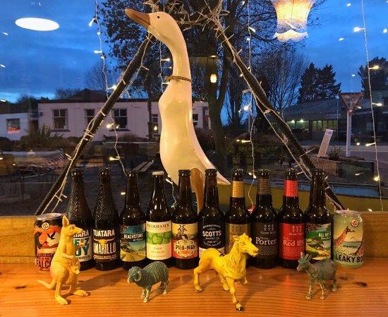 Geraldine, Nueva Zelanda: Craft beers in the chiller at all times.