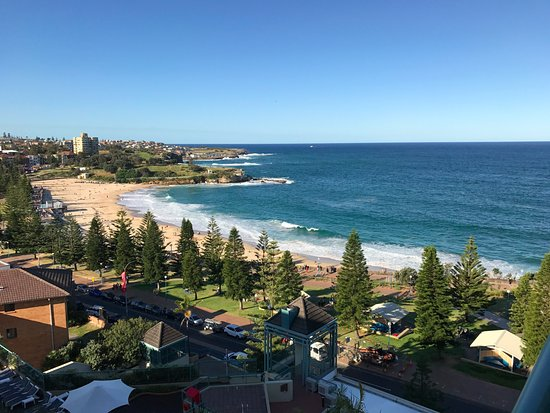 Crowne Plaza Hotel Coogee Beach Sydney View From The 7th Floor