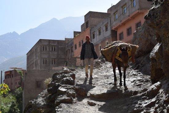Imlil, Morocco: local people