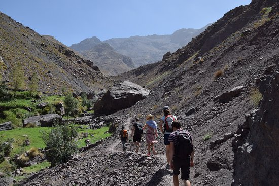 Imlil, Morocco: a hike in the natural part