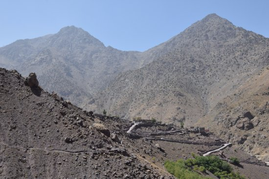 Imlil, Morocco: the highest village in the area