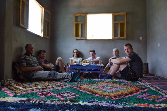 Imlil, Morocco: the guide's house, had some amazing dinner