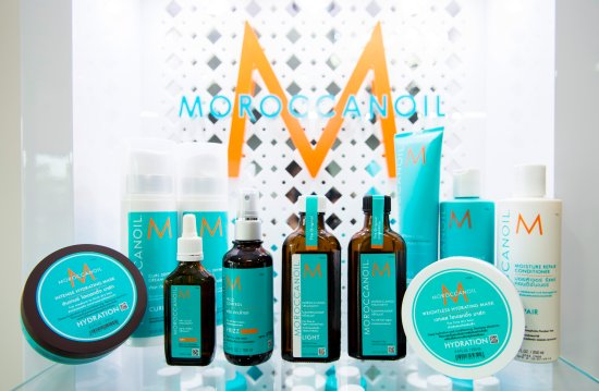 Choeng Thale, Thailand: Complete `set of `moroccan Oil products