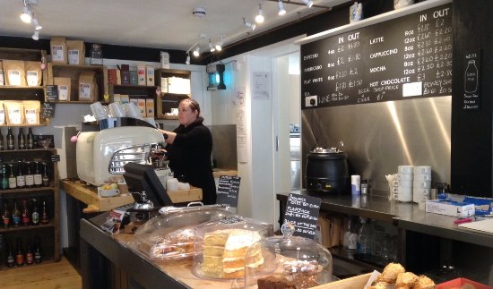 Horsham, UK: Crates Coffee Shop