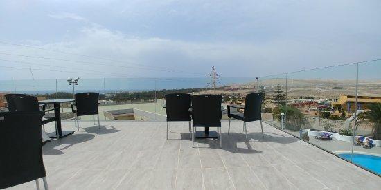 Kn Hotel Matas Blancas : Dachterrasse