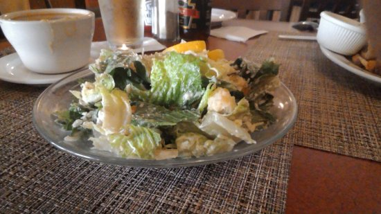 Waterford, NY: Caesar salad