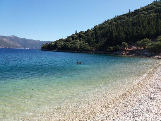 Kefalonia, Griechenland: Captain Corelli's beach