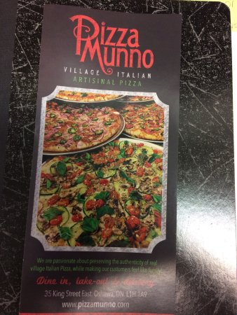 Oshawa, Canada: Amazing pizzeria style pizza. My new fave place!!