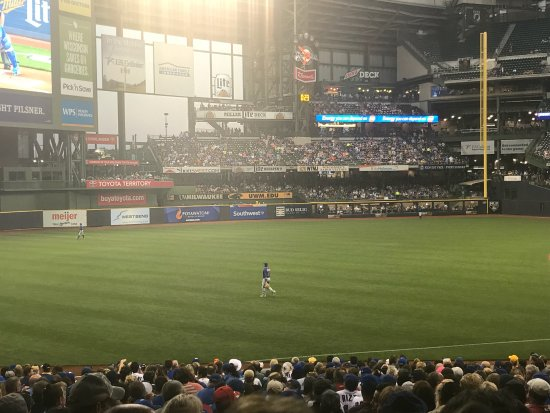Photo of Tourist Attraction Miller Park at 1 Brewers Way, Milwaukee, WI 53214, United States