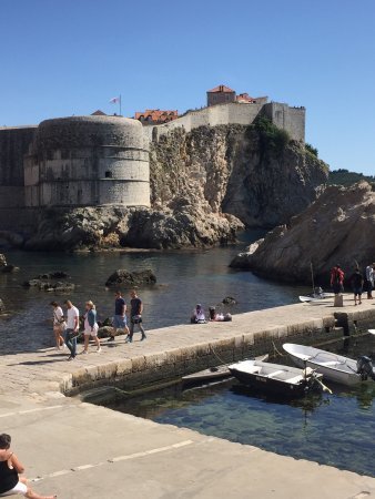 Photo of Historic Site Fort Lovrijenac at Dubrovnik, Croatia