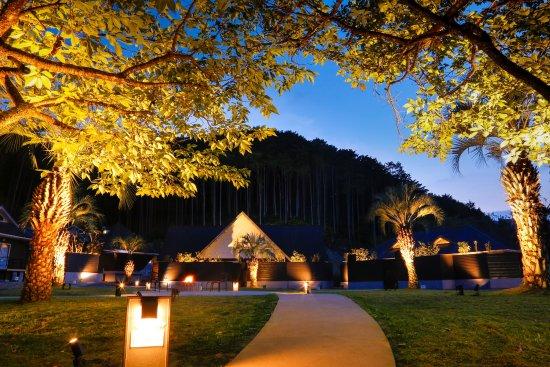 Kihoku-cho, Japan: 【フォレストコテージ】ライトサイド夜景