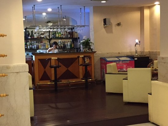 Hotel bar at the lobby