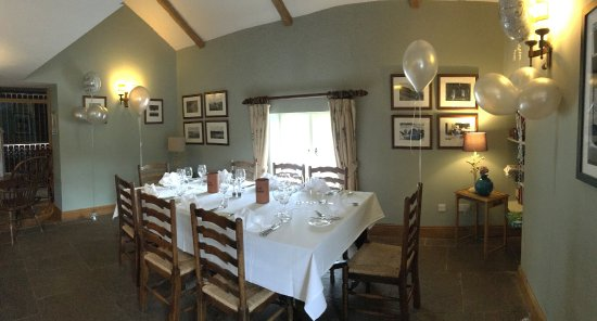 Skenfrith, UK: Private dining