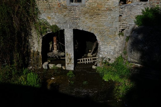 Loro Ciuffenna, Italia: Le vieux moulin