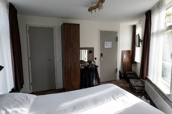 """Linden Hotel: This is the """"Superior Double"""" room at front of hotel (room #44)"""