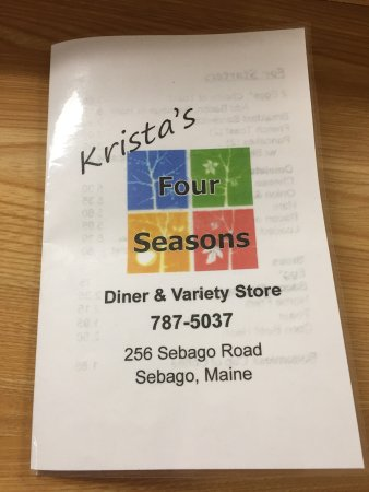 Sebago, ME: Krista's Four Seasons