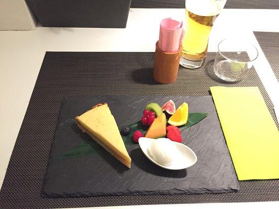 Zen: dessert torta al limone giapponese (Yuzo)
