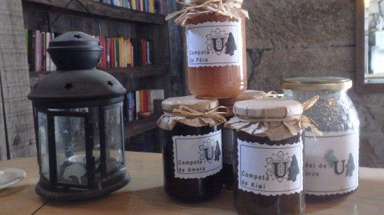 Cabeceiras de Basto, Portugal: A friend of mine from Uz makes wonderful marmelade e.o.  Make sure to taste her raw biological h