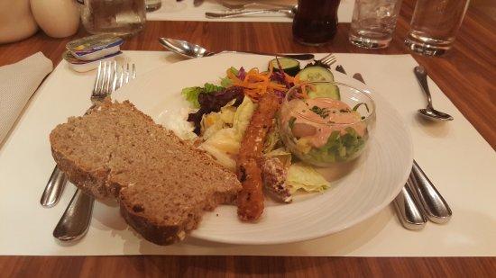 Daios Cove Luxury Resort & Villas: Delicious buffet starter