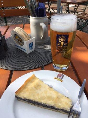 Altenau, Tyskland: Schmand / Mohnkuchen