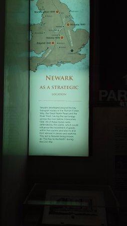 Newark-on-Trent, UK: Newark's strategic position in the Civil War