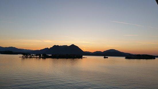 Hotel Romagna: Sonnenaufgang vom Zimmer