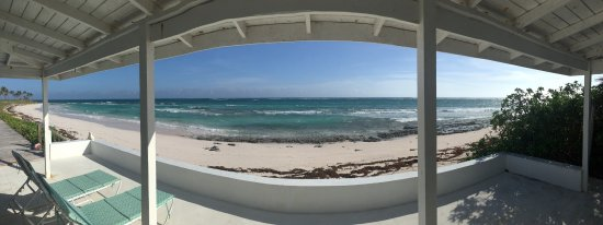 North Palmetto Point, Eleuthera: View from back door