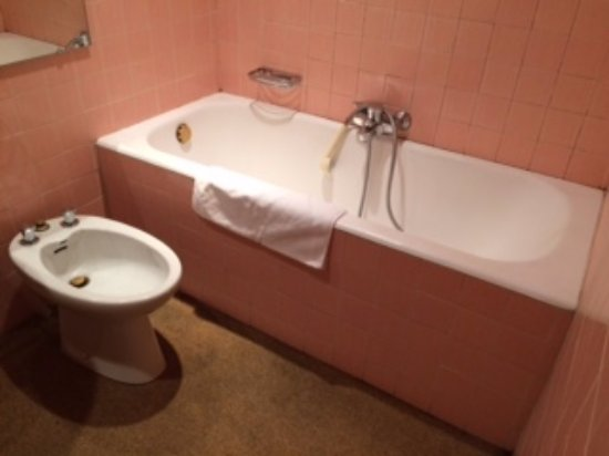 salle de bain dans son jus - Picture of Hotel de France, Auch ...