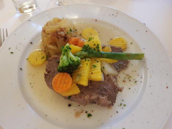 Restaurant Kirchenwirt Wachau: Tafelspitz
