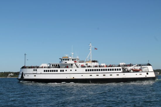 Woods Hole, Массачусетс: Ferry a Vineyard Haven