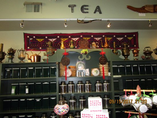 Teas & Weaves: Exotic teas from around the world.
